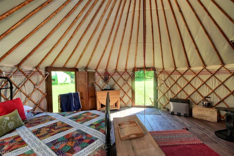 Pimpernel Luxury Yurt (en suite)