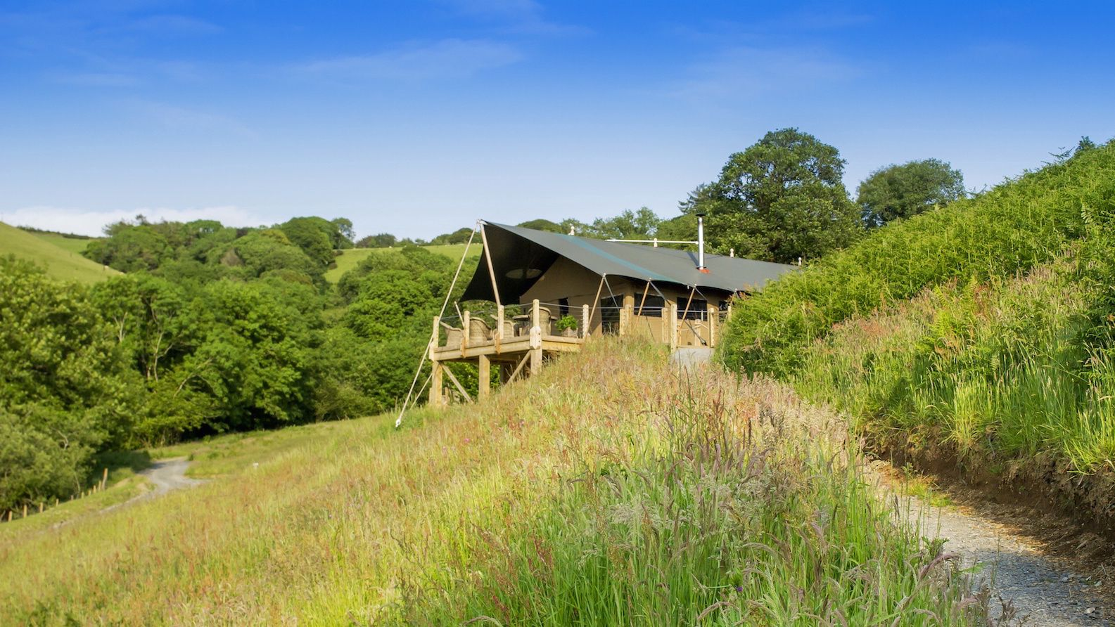 Glamping in Exmoor National Park