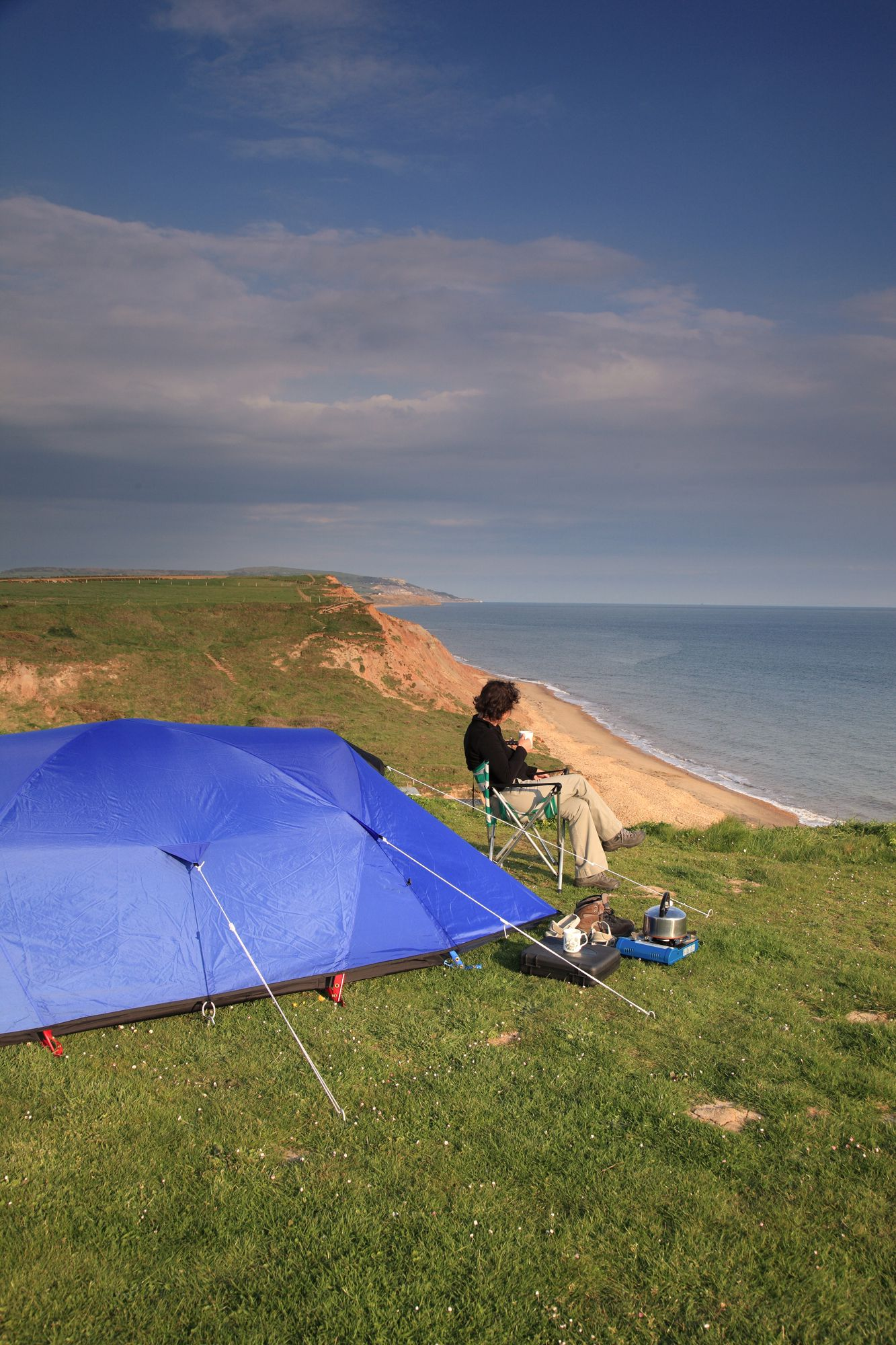 Campsites in Brighstone holidays at Cool Camping