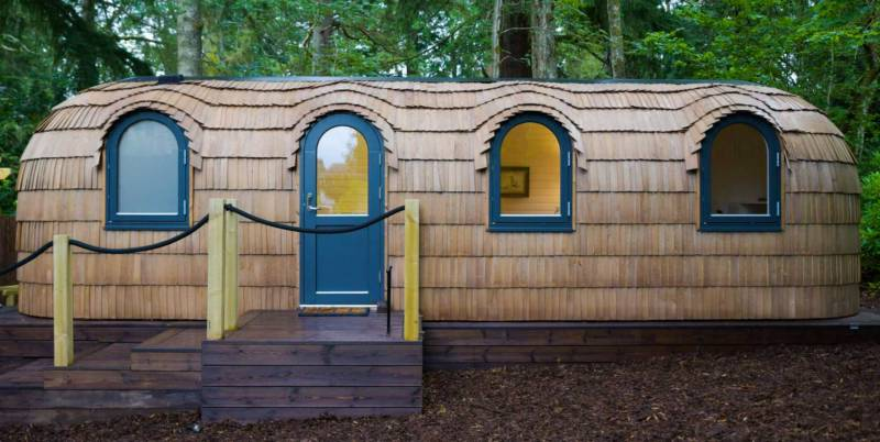 Culdees Castle Estate Glamping, Muthill, Perthshire, Scotland