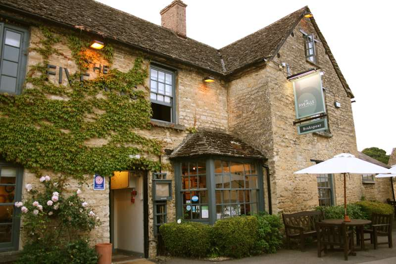 The Five Alls Filkins Lechlade Gloucestershire GL7 3JQ