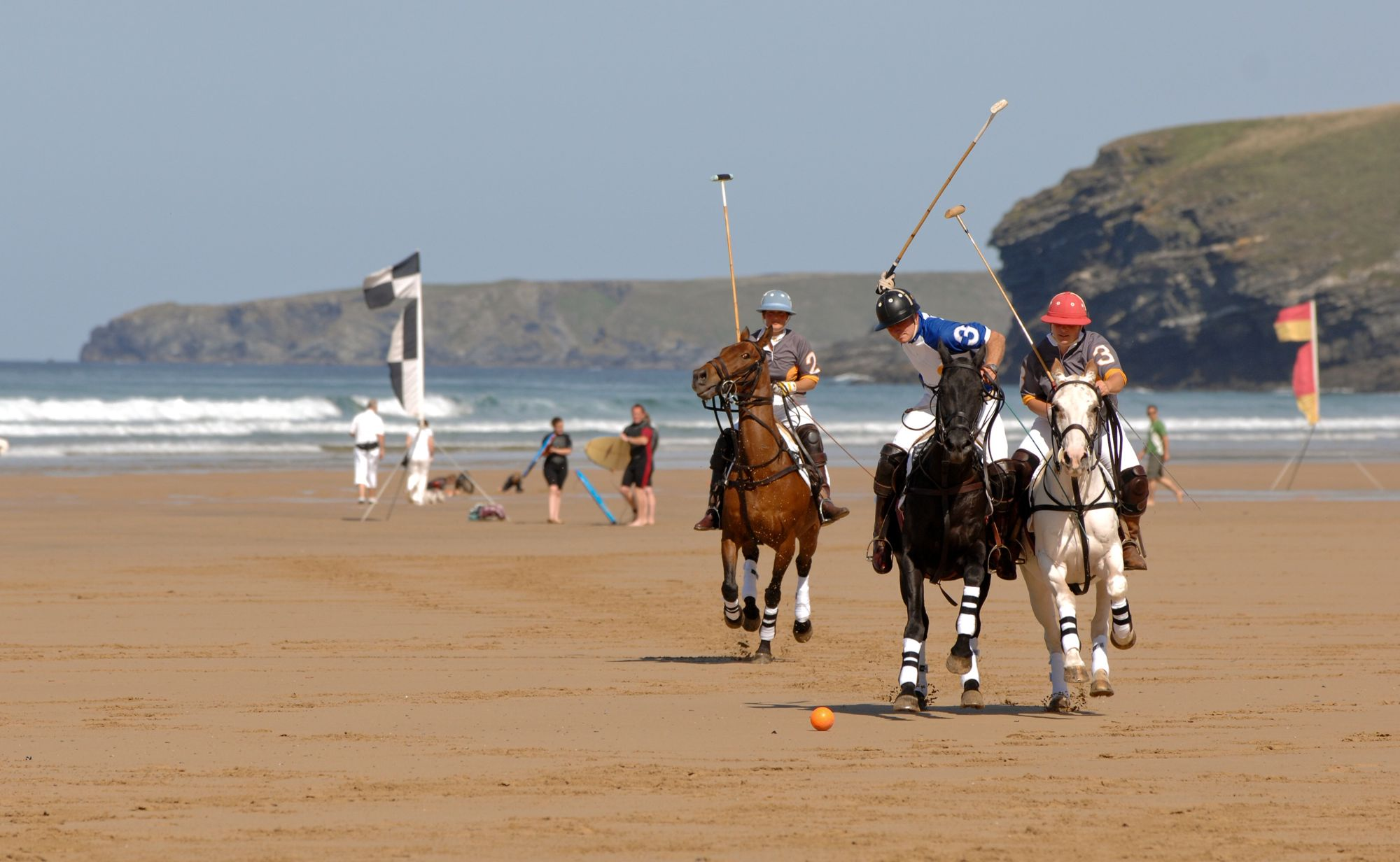Polo on the Beach, Watergate Bay