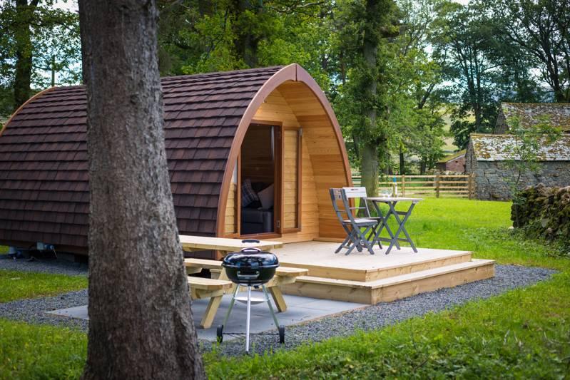 Dog-friendly luxury Lake District pod