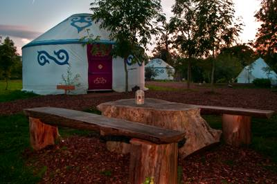 Boutique camping nestled in woodland at the foot of the South Downs, West Sussex