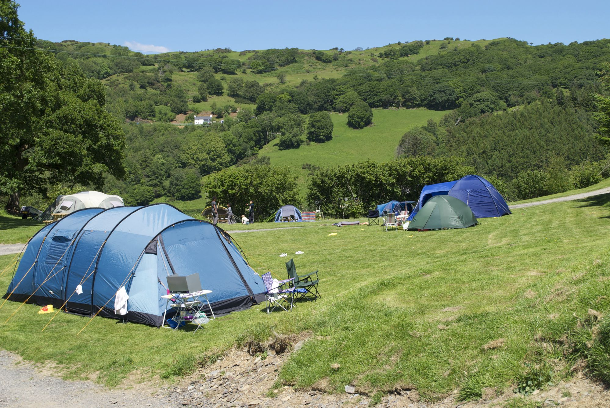 Leave it to your kids' imagination when it comes to this mid-Wales campsite on the edge of Snowdonia National Park. Rocky outcrops and magical valleys. It's a proper fairytale of a site.