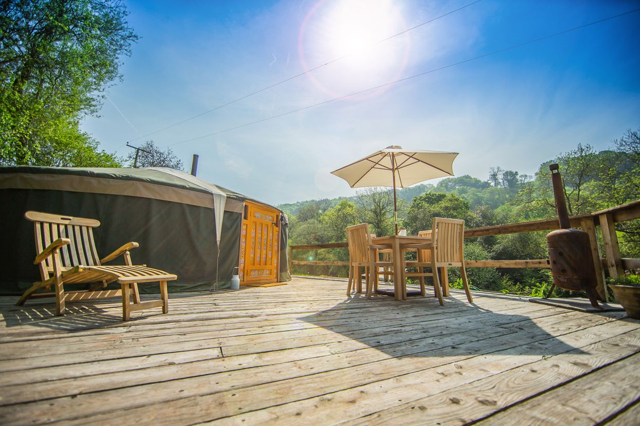 Glamping in the Wye Valley – The best glampsites in the Wye Valley AONB
