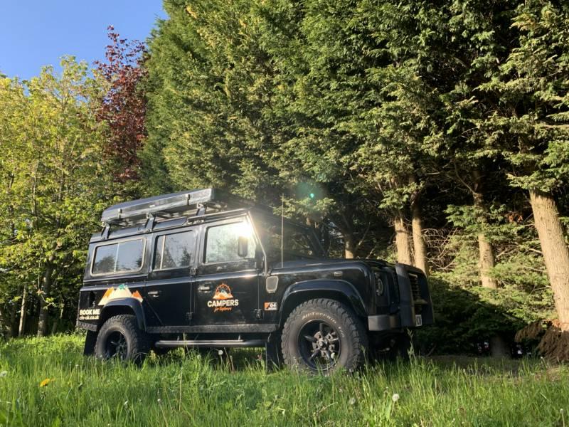 Dog Friendly Land Rover Defender Camper