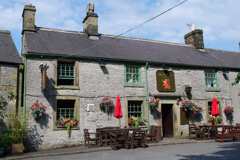 The Red Lion, Litton, Deryshire