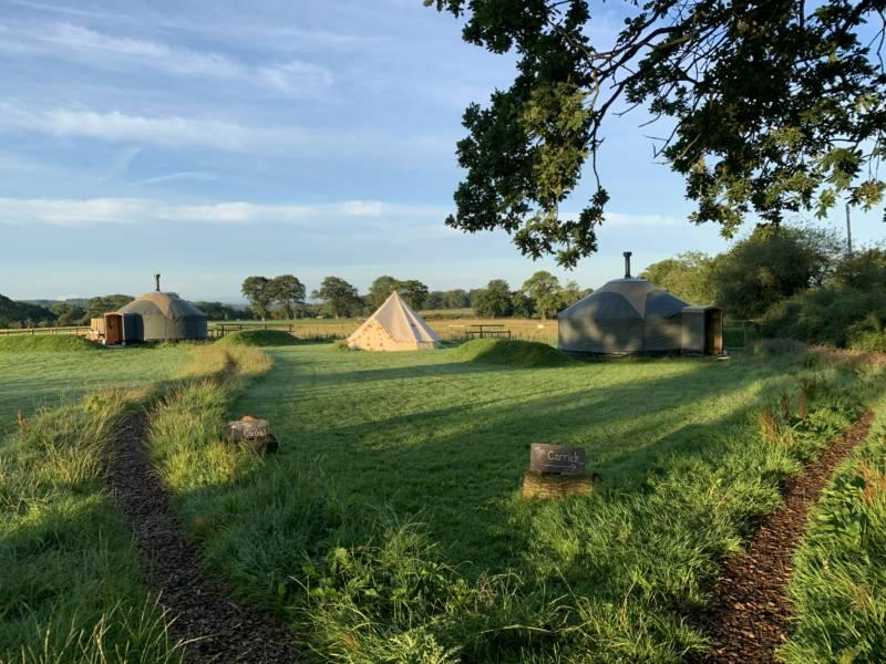 Hadrian's Wall Country Yurts Burthinghurst, Walton, Brampton, Cumbria CA8 2JW