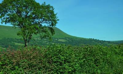 Glamping in the Brecon Beacons