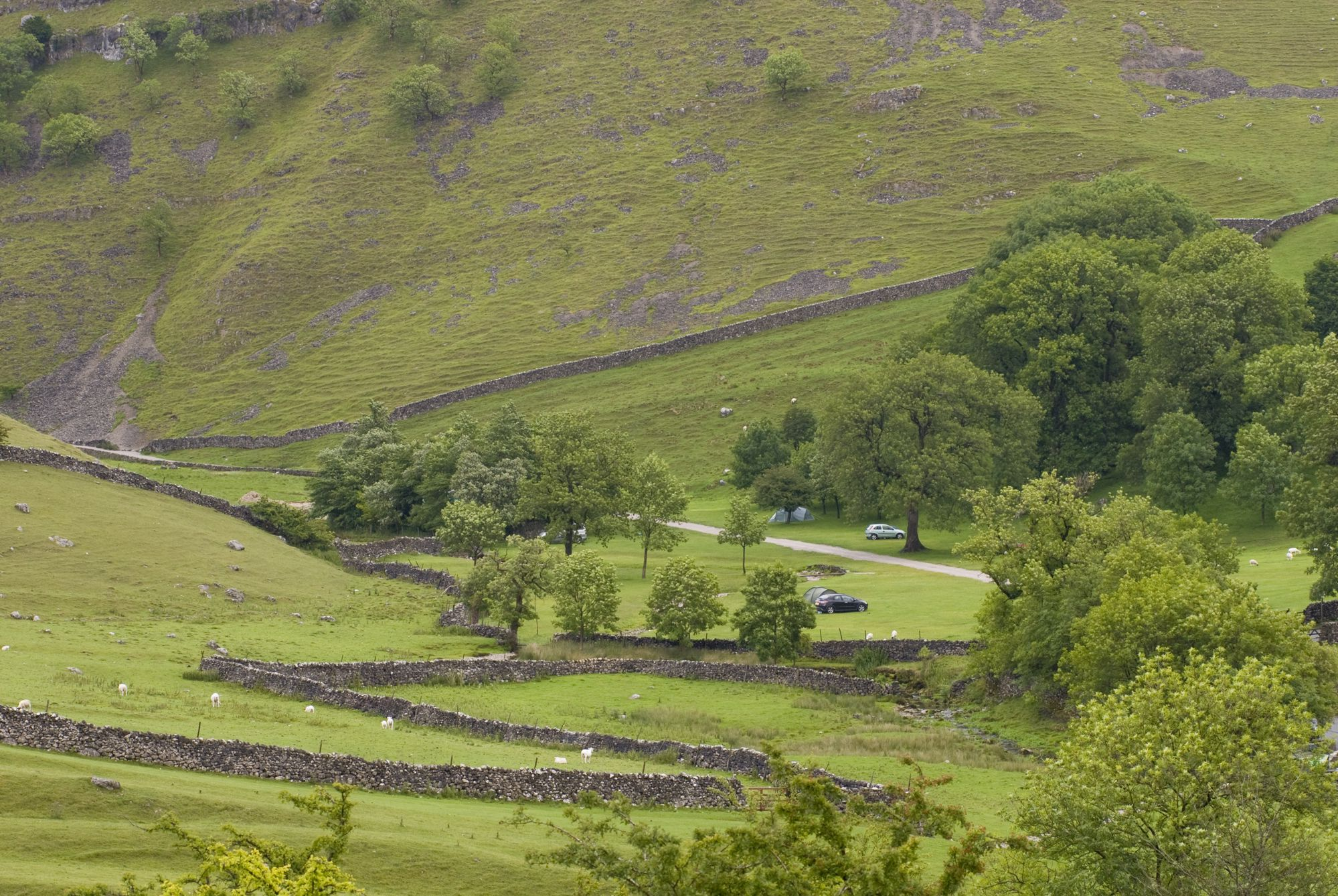 Campsites in Horton-in-Ribblesdale, Yorkshire Dales