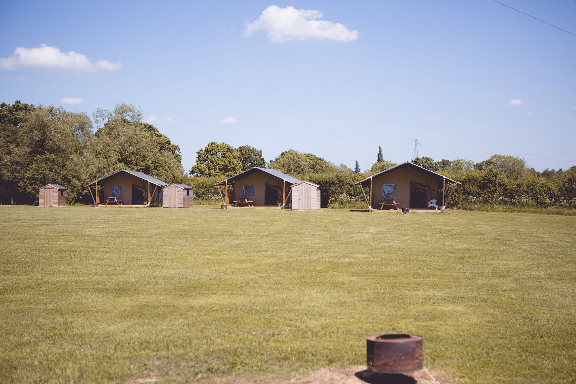 Glamping in West Midlands