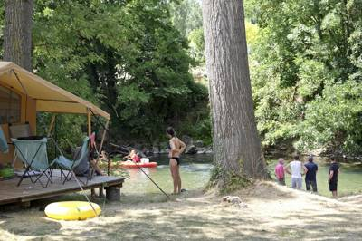 Huttopia Millau Camping Millau, 455 avenue de l'Aigoual, 12100 Millau, Avignon, Aveyron, France