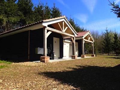 Newbourne Woodland Campsite Virginia House, Jackson Road, Newbourne, Woodbridge, Suffolk IP12 4NR