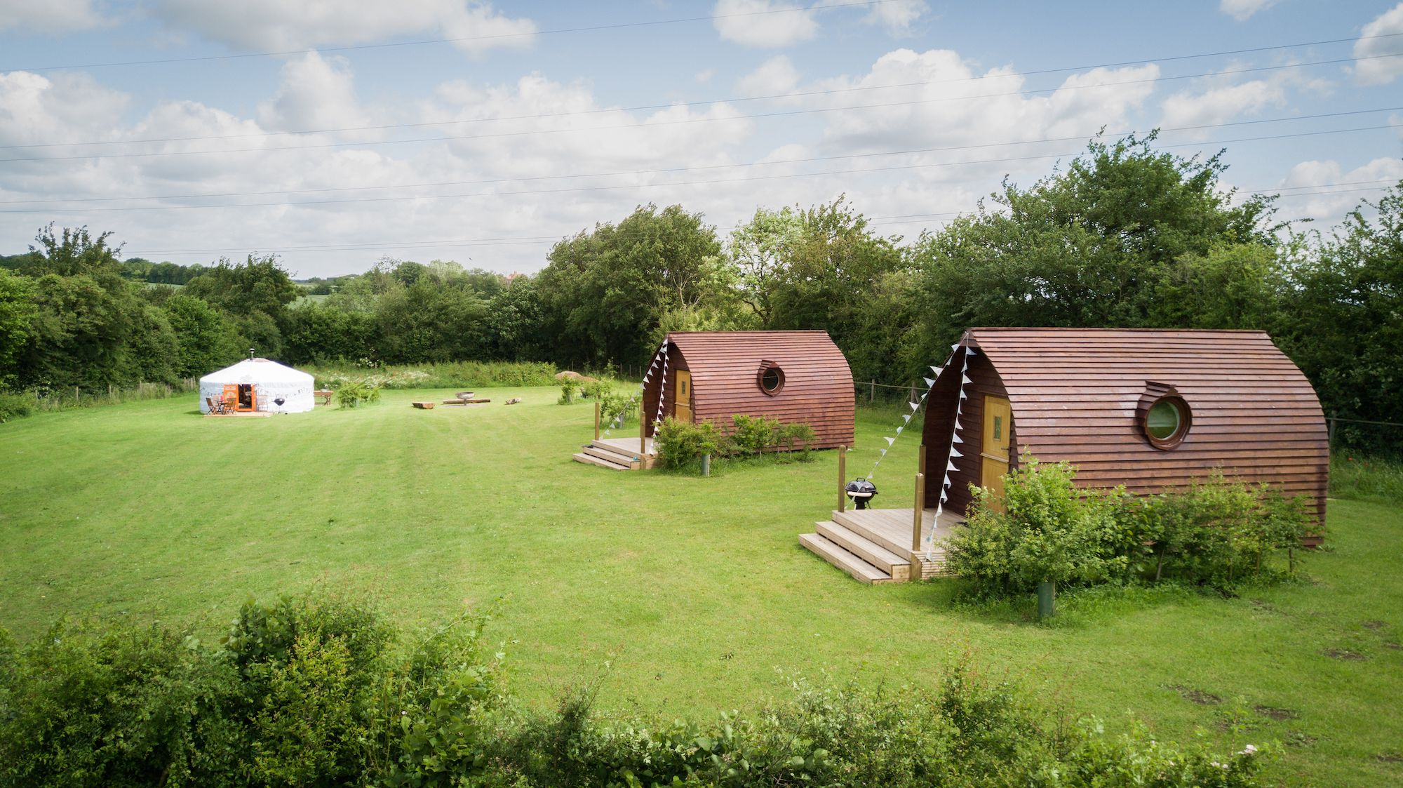 Glamping in Suffolk holidays at I Love This Campsite