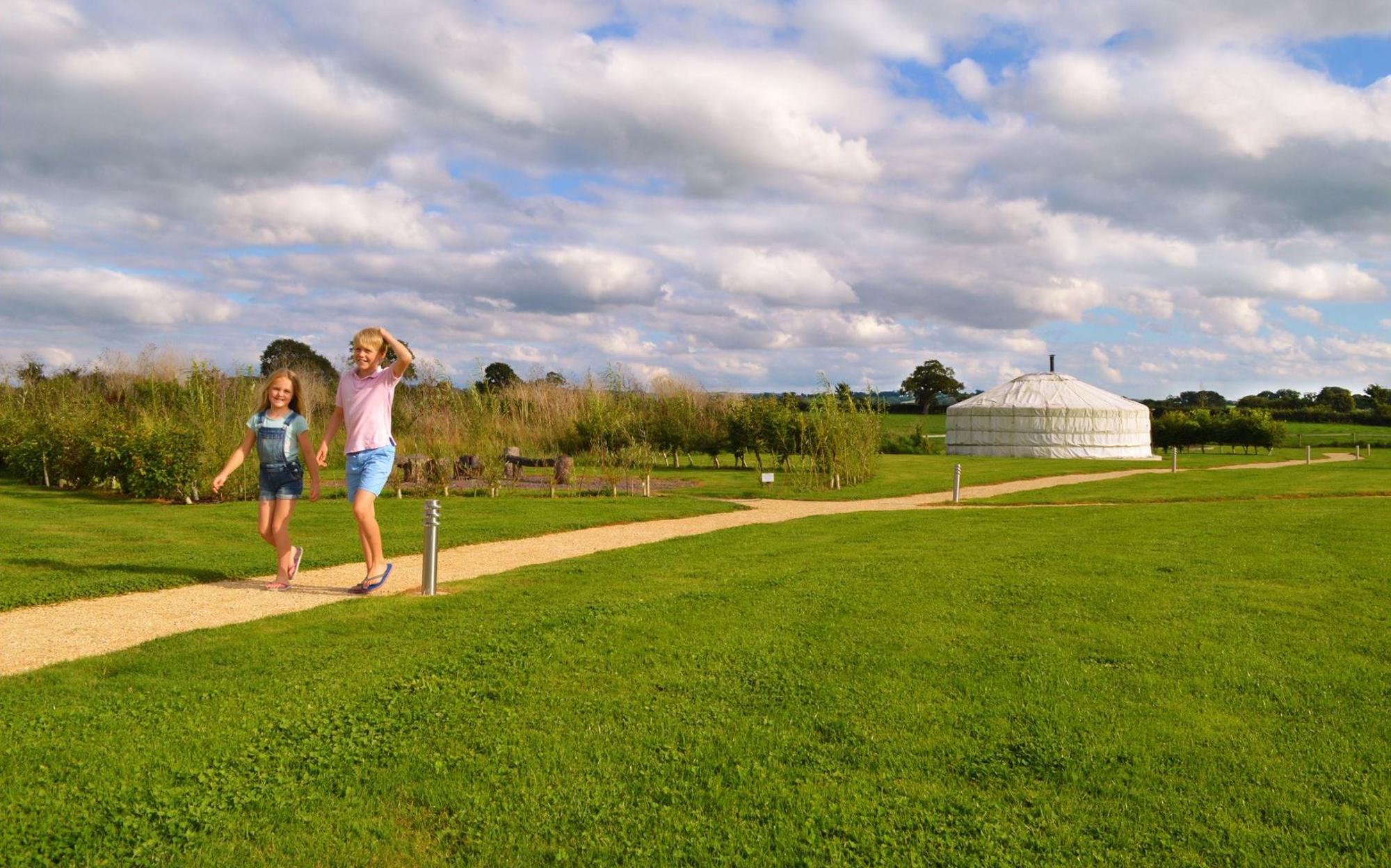 Glamping in Shaftesbury – Cool Camping