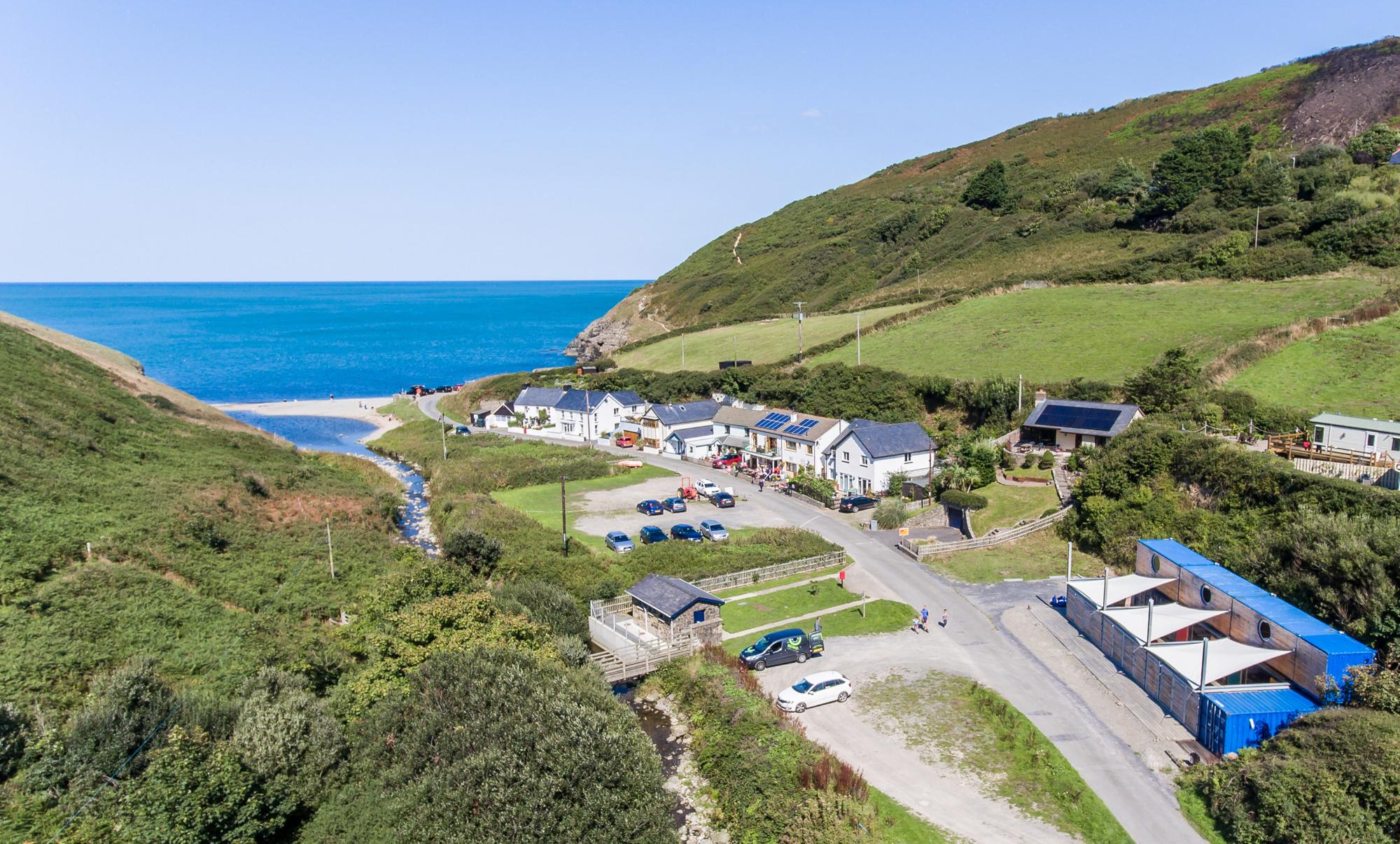 New Quay Camping | Campsites in New Quay, Ceredigion