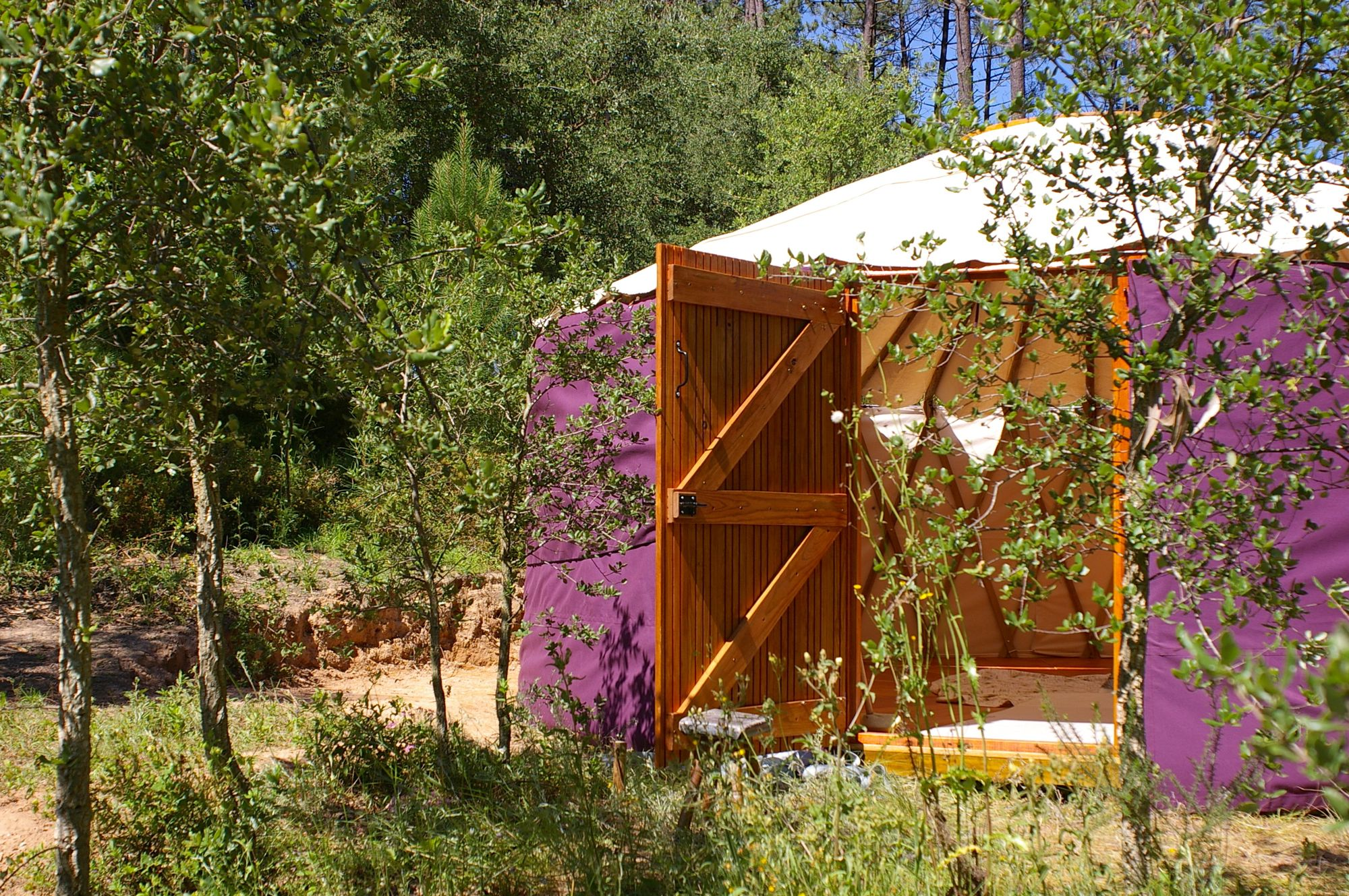 Glamping in Portugal holidays at Cool Camping