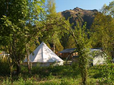 Camping or glamping on the blissful banks of the Loire.