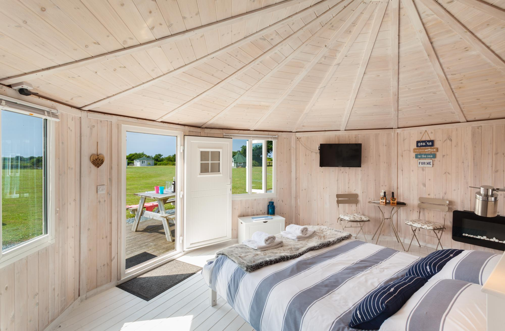 Glamping in Bideford holidays at Cool Camping