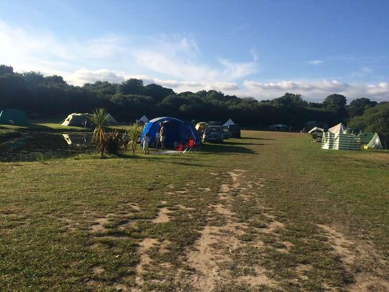 Medium motorhome / camper van pitch