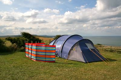 This tents-only cliff-top site boasts some of North Yorkshire's most breathtaking sea views.
