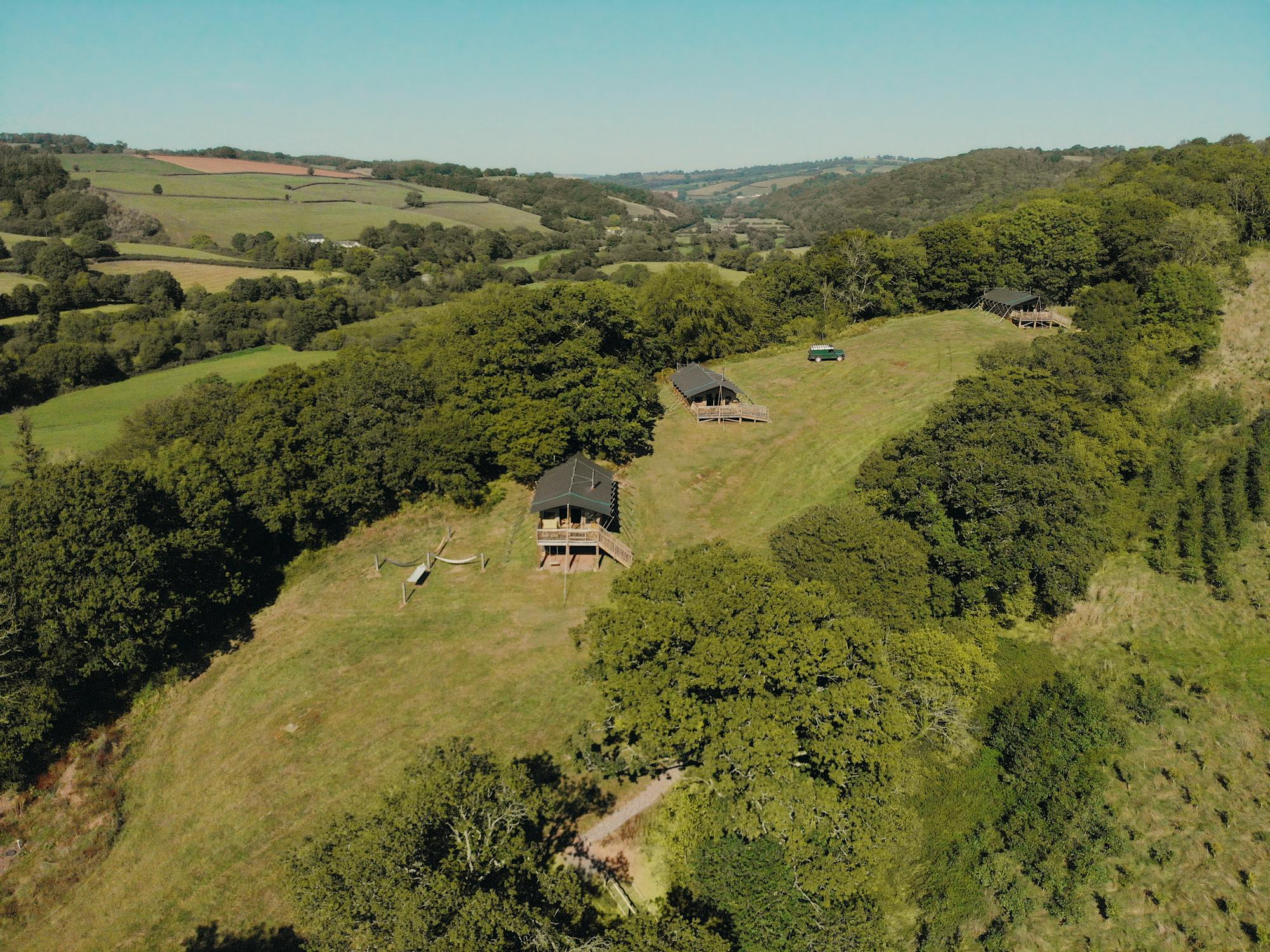 Glamping in Tiverton holidays at Cool Places