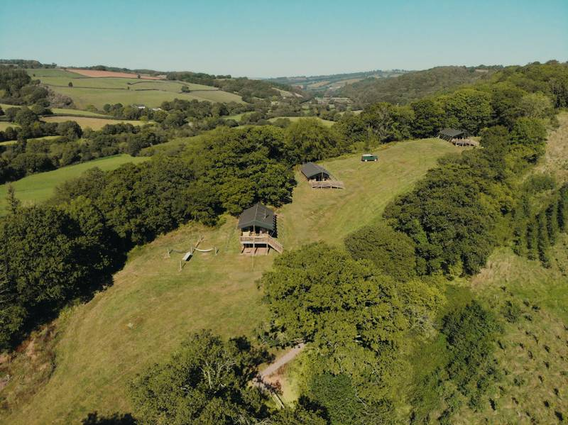 Exe Valley Glamping Bickleigh, Tiverton, Devon EX16 8RG