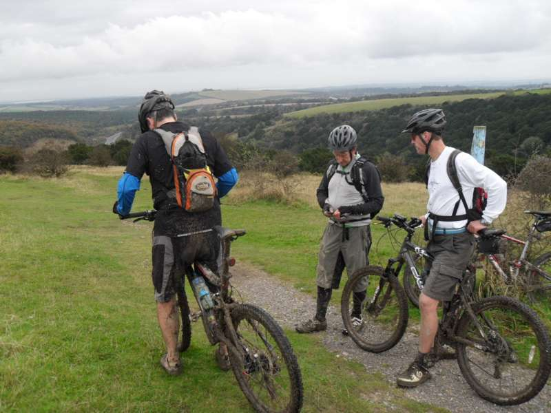 Cycling the South Downs Way