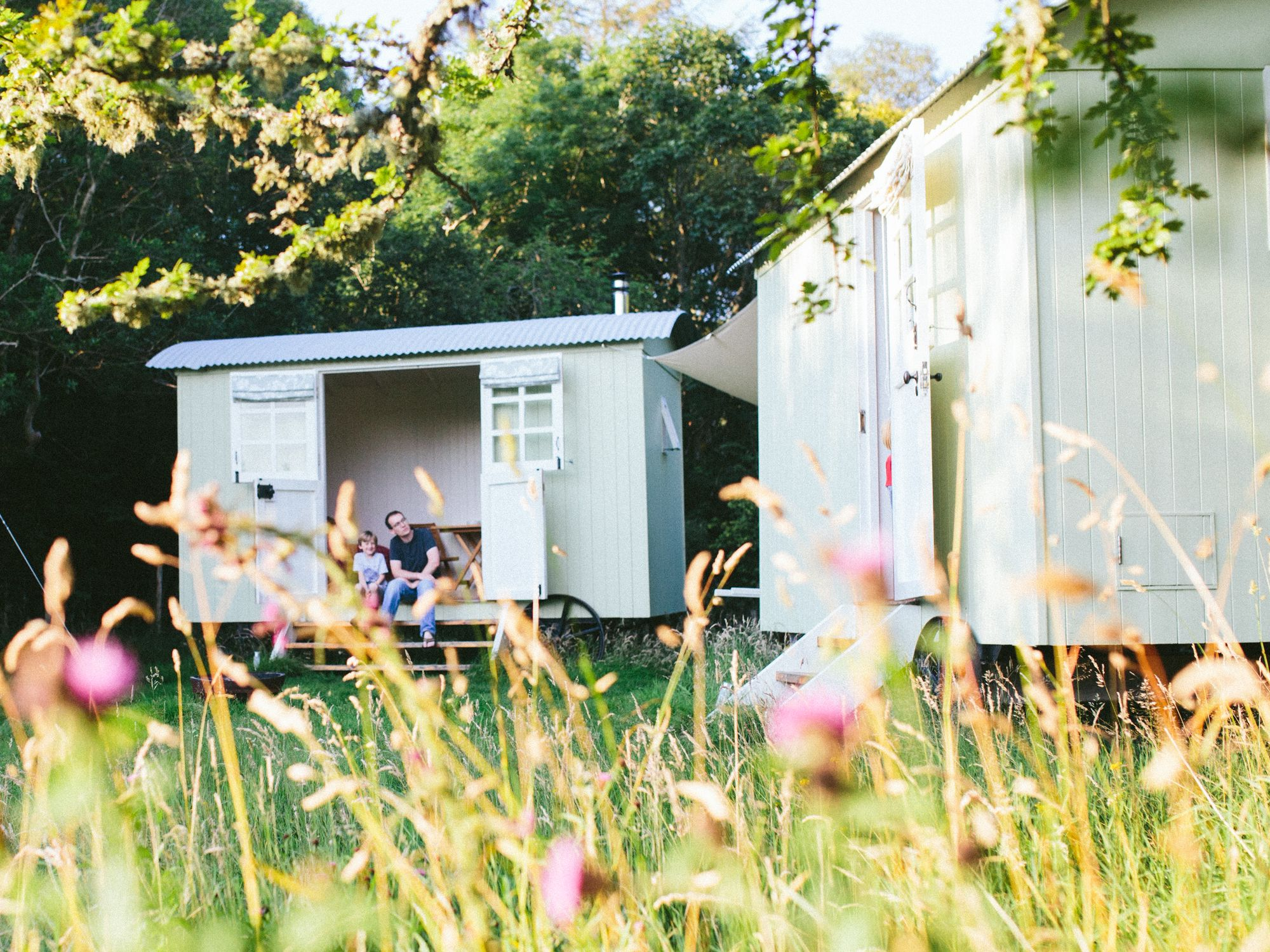 Glamping in Conwy holidays at Glampingly