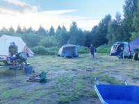 Group Forest Tent Pitch