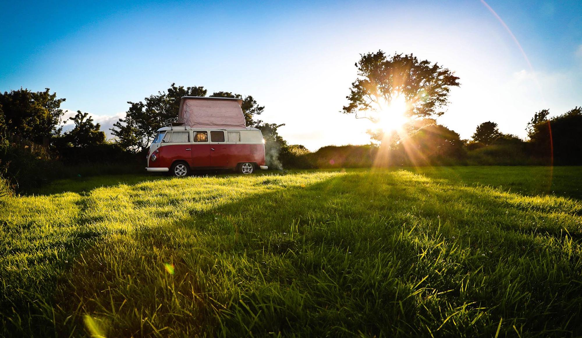 Campsites that accept campervans – Cool Camping