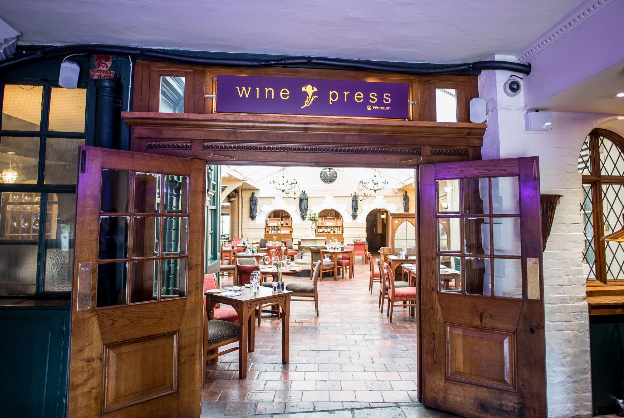 The Wine Press @Wensum