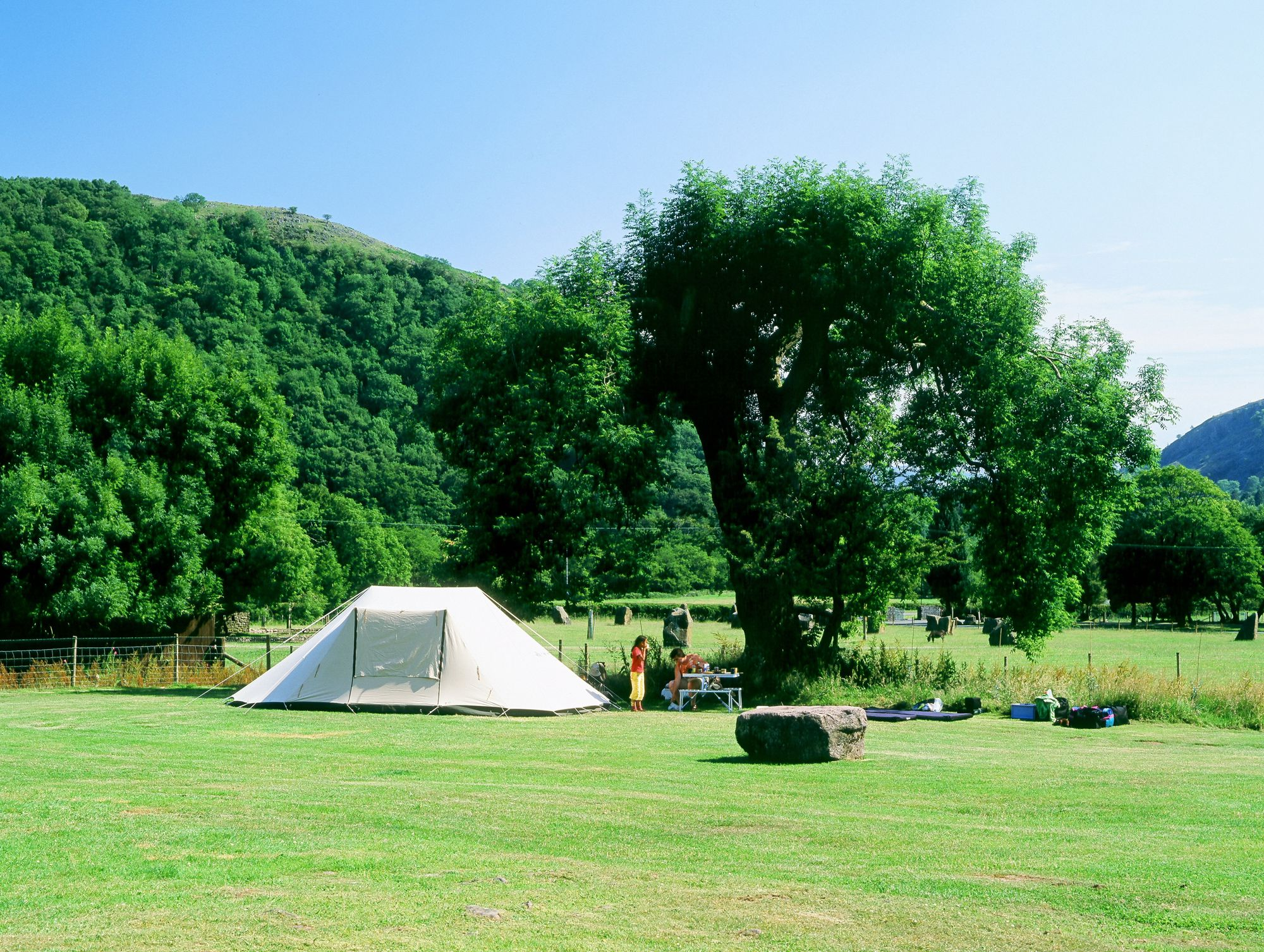 Campsites in the Brecon Beacons