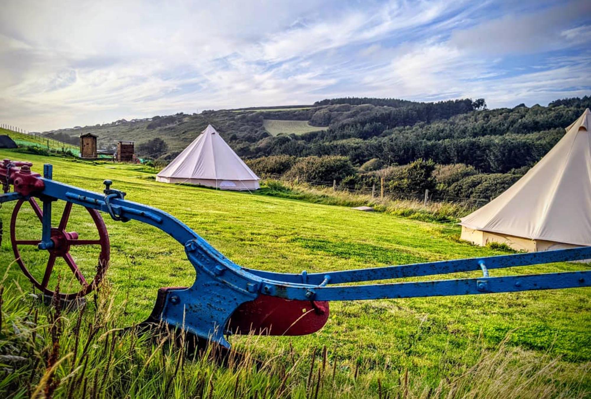 Higher Pendeen Camping