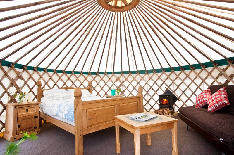 Crocullia yurt (ADULT ONLY)