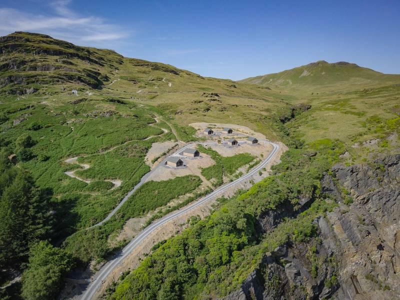 Slate Mountain Glamping The Slate Caverns, Blaenau Ffestiniog, Gwynedd LL41 3NB
