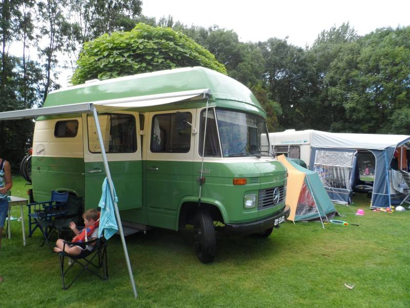 Pitch for campervan + electricity