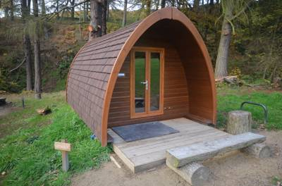 """Lookout"" family camping pod"