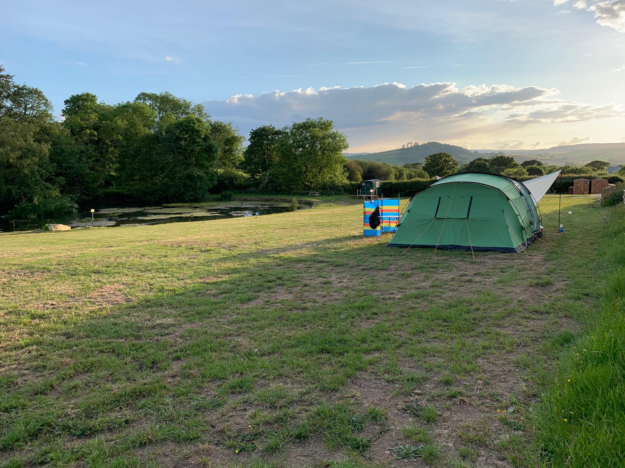 Glamping in Lyme Regis holidays at Cool Camping