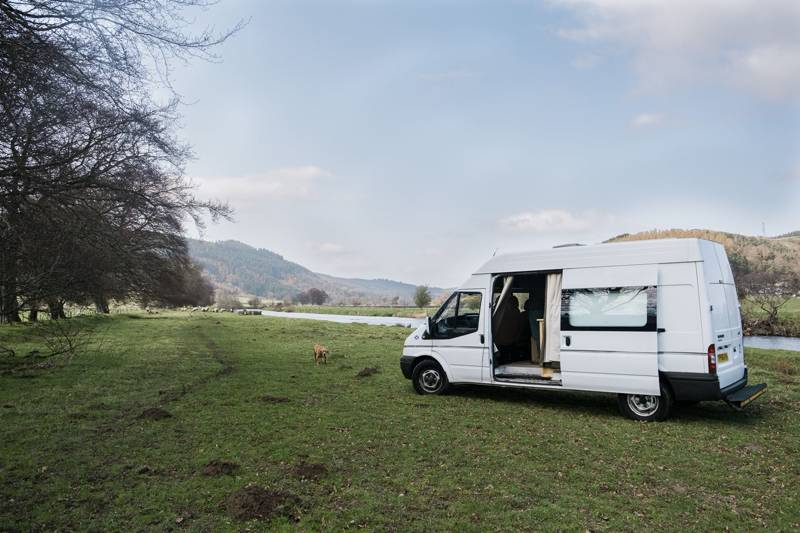 K9, Peebles, from Quirky Campers