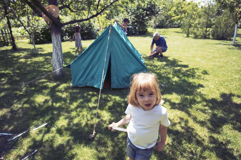 Dust off the tent for the Big Easter Camp In