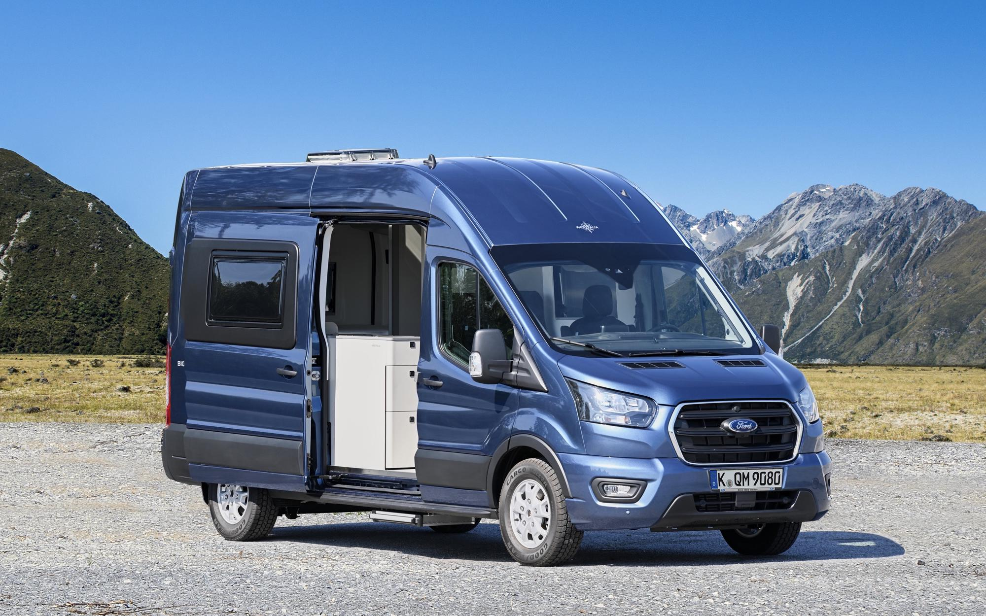 The Ford Big Nugget concept van