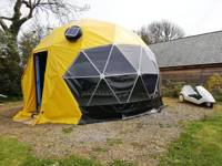 Pacman Geodesic Dome