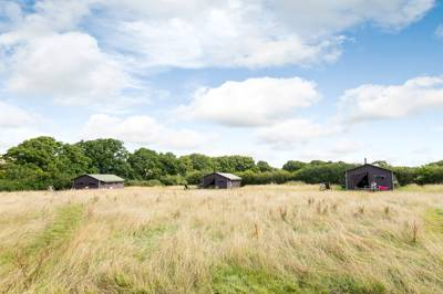 Glamping on an Isle of Wight cattle farm with easy access to quietest parts of the island.