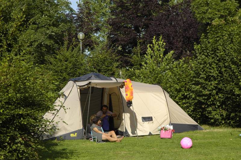 Camping Grass Pitch with Electricity