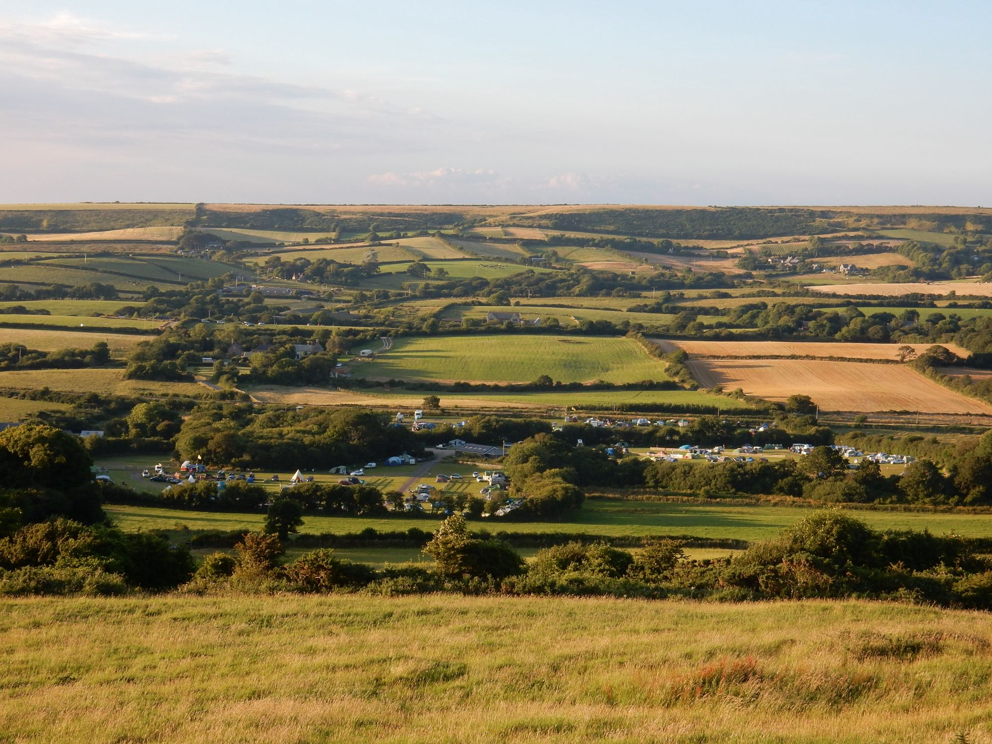 Campsites in Swanage & Isle of Purbeck holidays at Glampingly