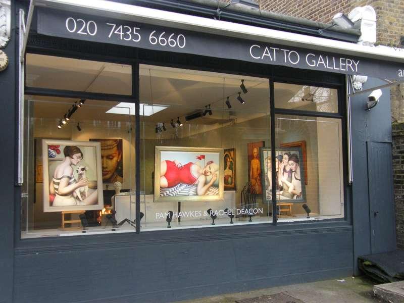 Heath Street art galleries
