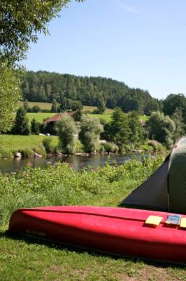Authentic 'cool camping' in the heart of the Bavarian forest.