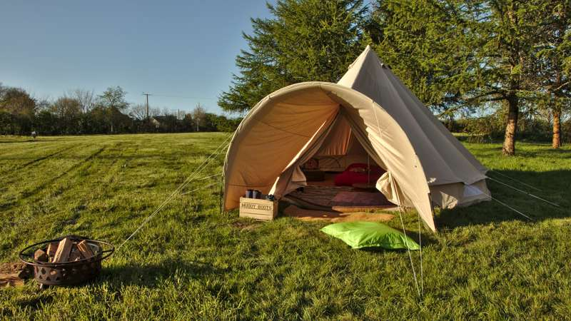 Goldfinch Furnished Bell Tent